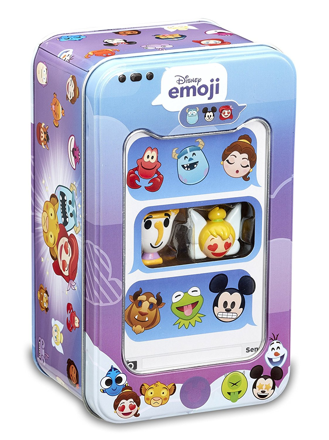 Disney Emoji #ChatCollection Storage Tin with 2 Emojis