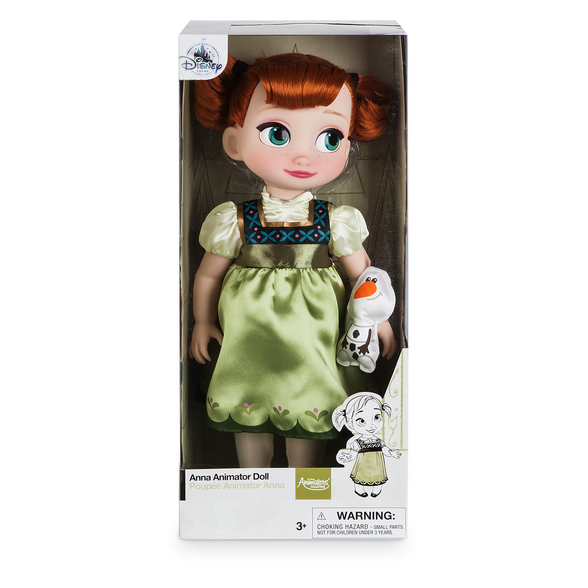 Disney Princess Animators' Collection Anna Doll From Frozen