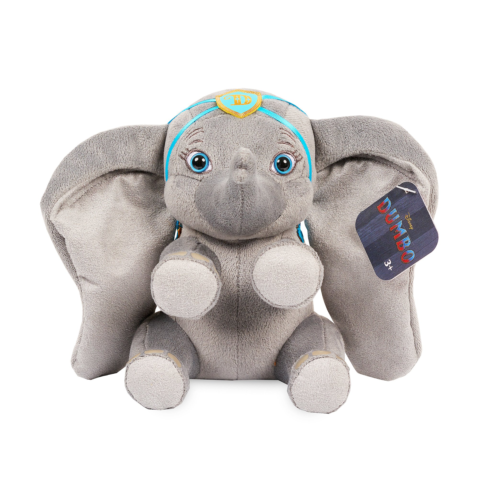 Disney Live Action Dumbo Small Dumbo Blue Outfit Plush Soft Toy