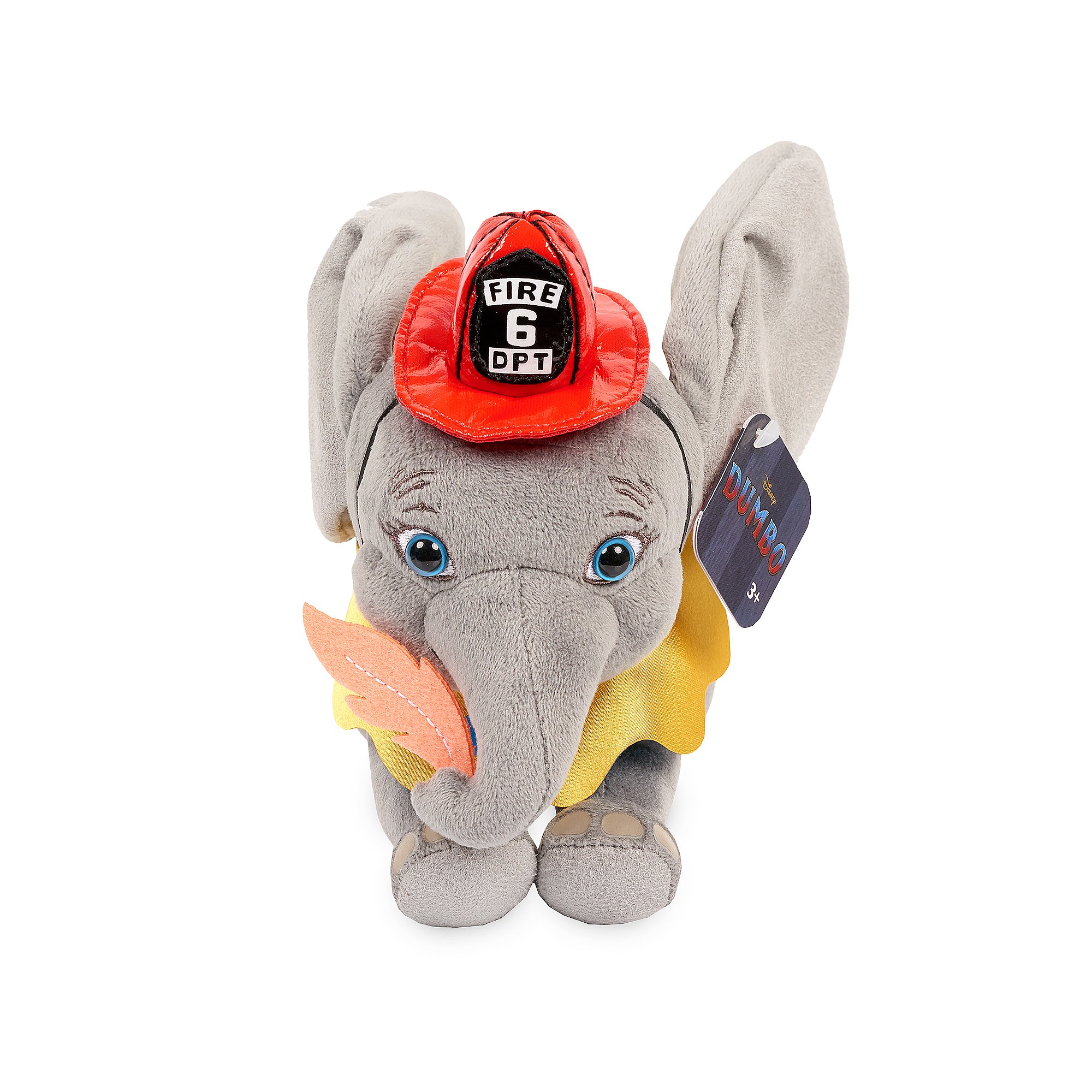 Disney Live Action Dumbo Small Dumbo Fireman Plush Soft Toy