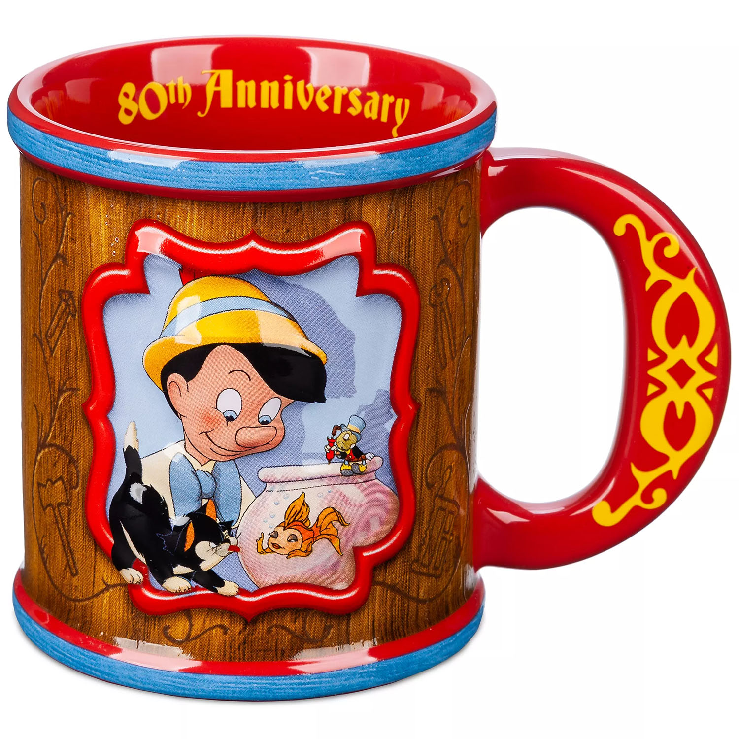 Disney Pinocchio 80th Anniversary Mug Disney Store Exclusive