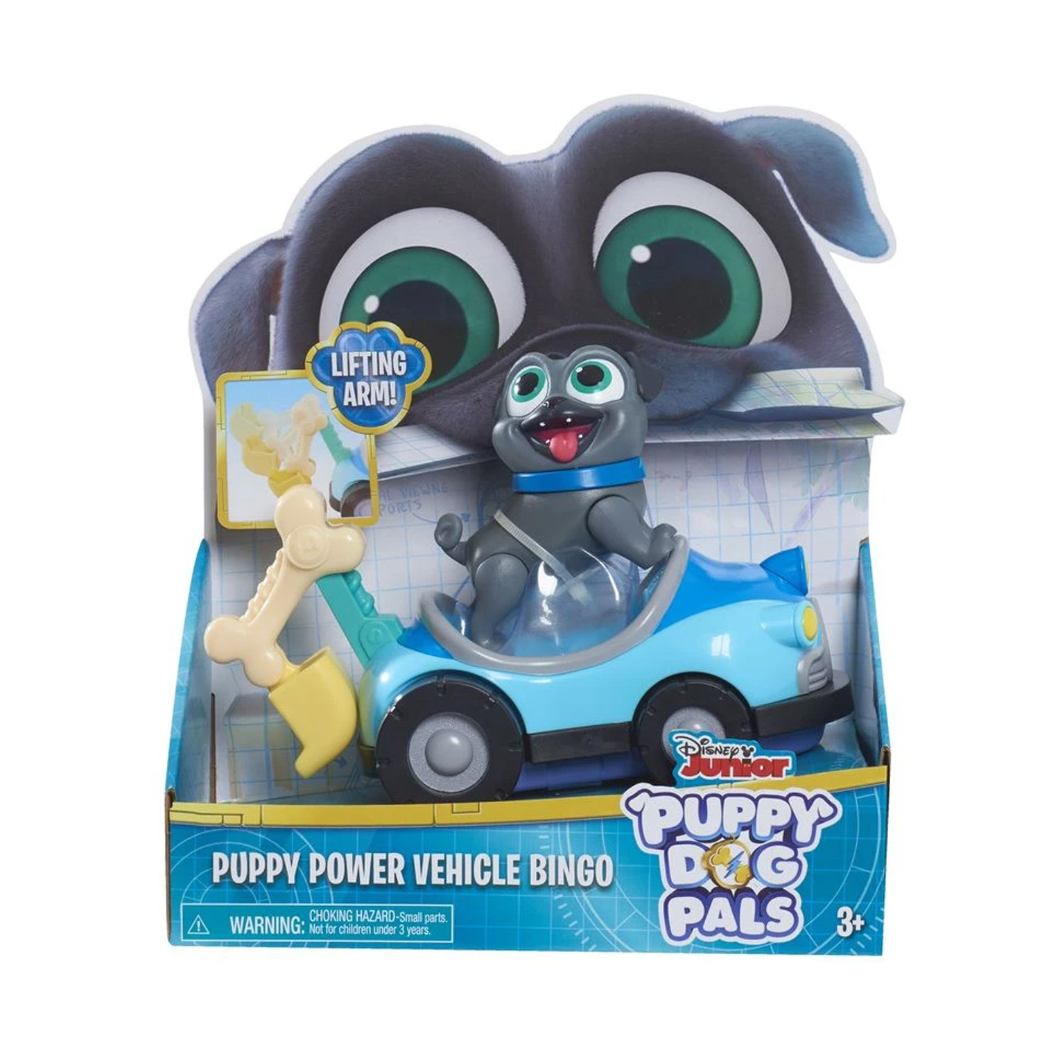 Disney Puppy Dog Pals Puppy Power Vehicle Bingo