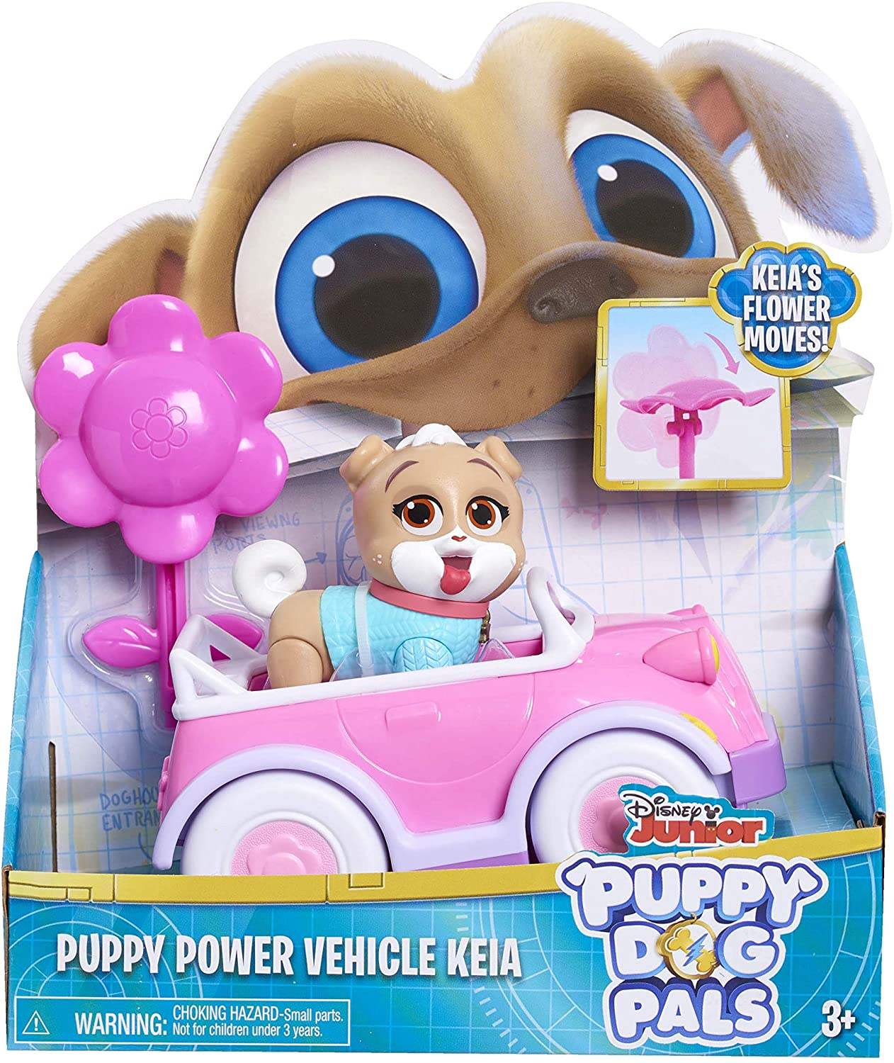 Disney Puppy Dog Pals Puppy Power Vehicle Keia