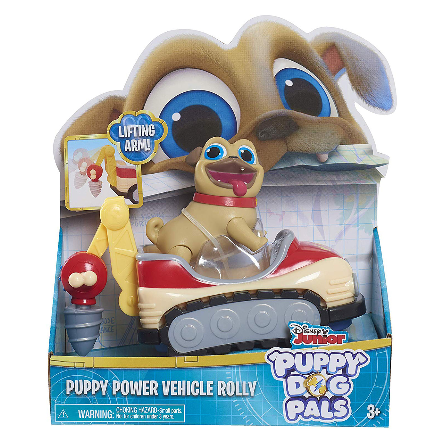Disney Puppy Dog Pals Puppy Power Vehicle Rolly