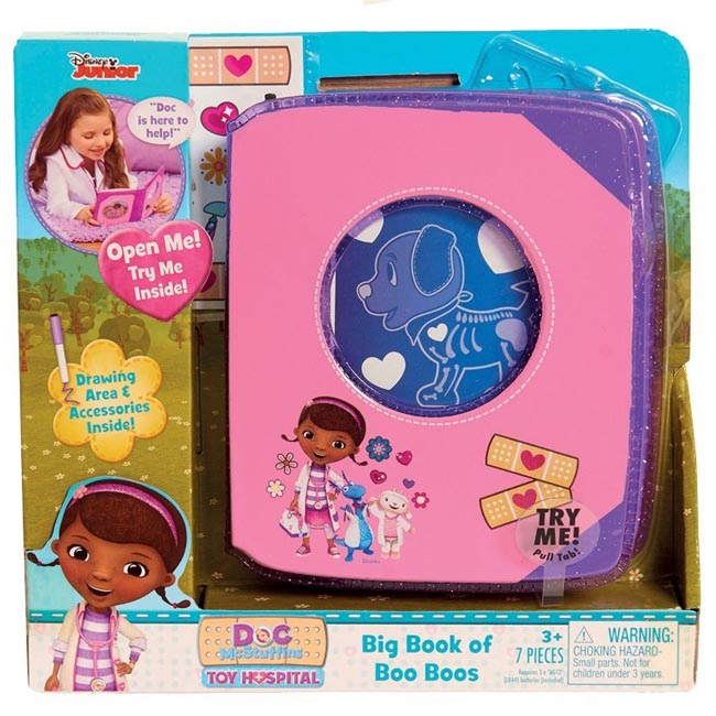 Doc McStuffins Toy Hospital Big Book of Boo Boos with Sound