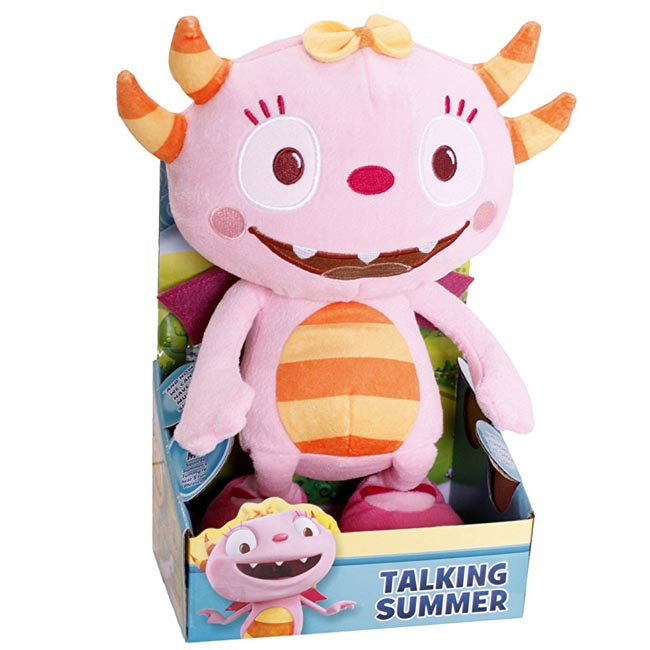 Henry Hugglemonster Talking Summer Plush Soft Toy 27cm