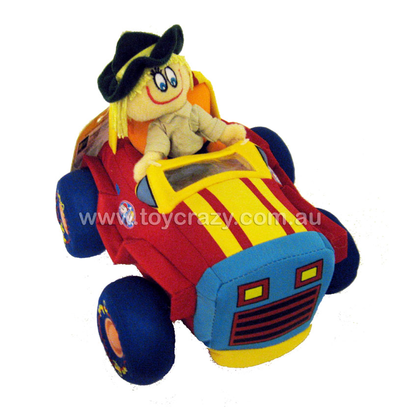 Danny First Toys - Sally Doll in Jeep Soft Toy