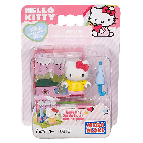 Mega Bloks Hello Kitty Rainy Day 10813