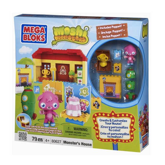 Moshi Monsters Mega Bloks Monster's House 80627