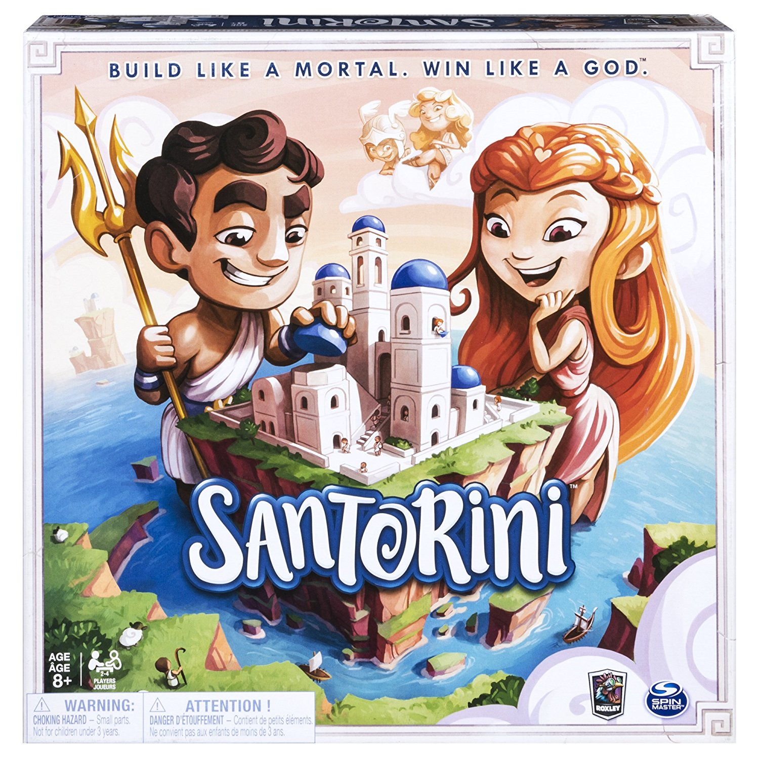 Santorini The Strategy Based Board Game