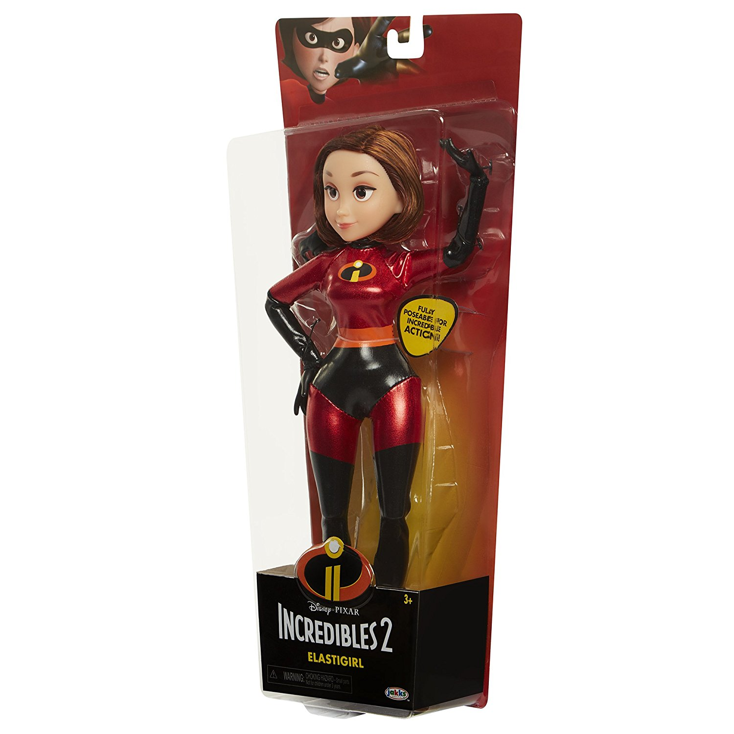 The Incredibles 2 Poseable Mrs Incredible Elastagirl Doll