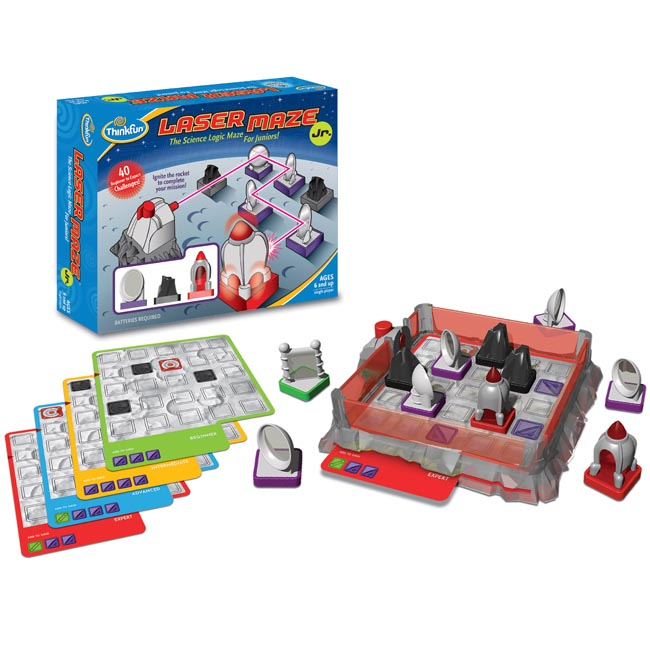 ThinkFun Laser Maze Jr Junior Science Logic Maze Game