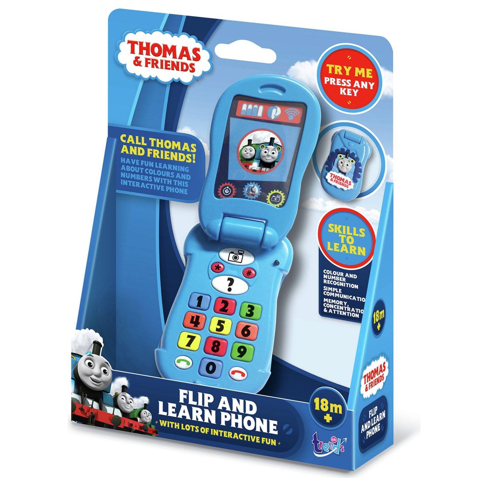 Thomas & Friends Flip & Learn Fun Educational Phone